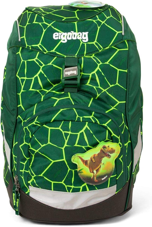 ergobag Prime Backpack Single, Sacs à dos Multicolore (Bearrex)