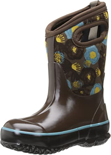 Bogs Kids Classic High Waterproof Insulated Rubber Neoprene Rain Boot Snow