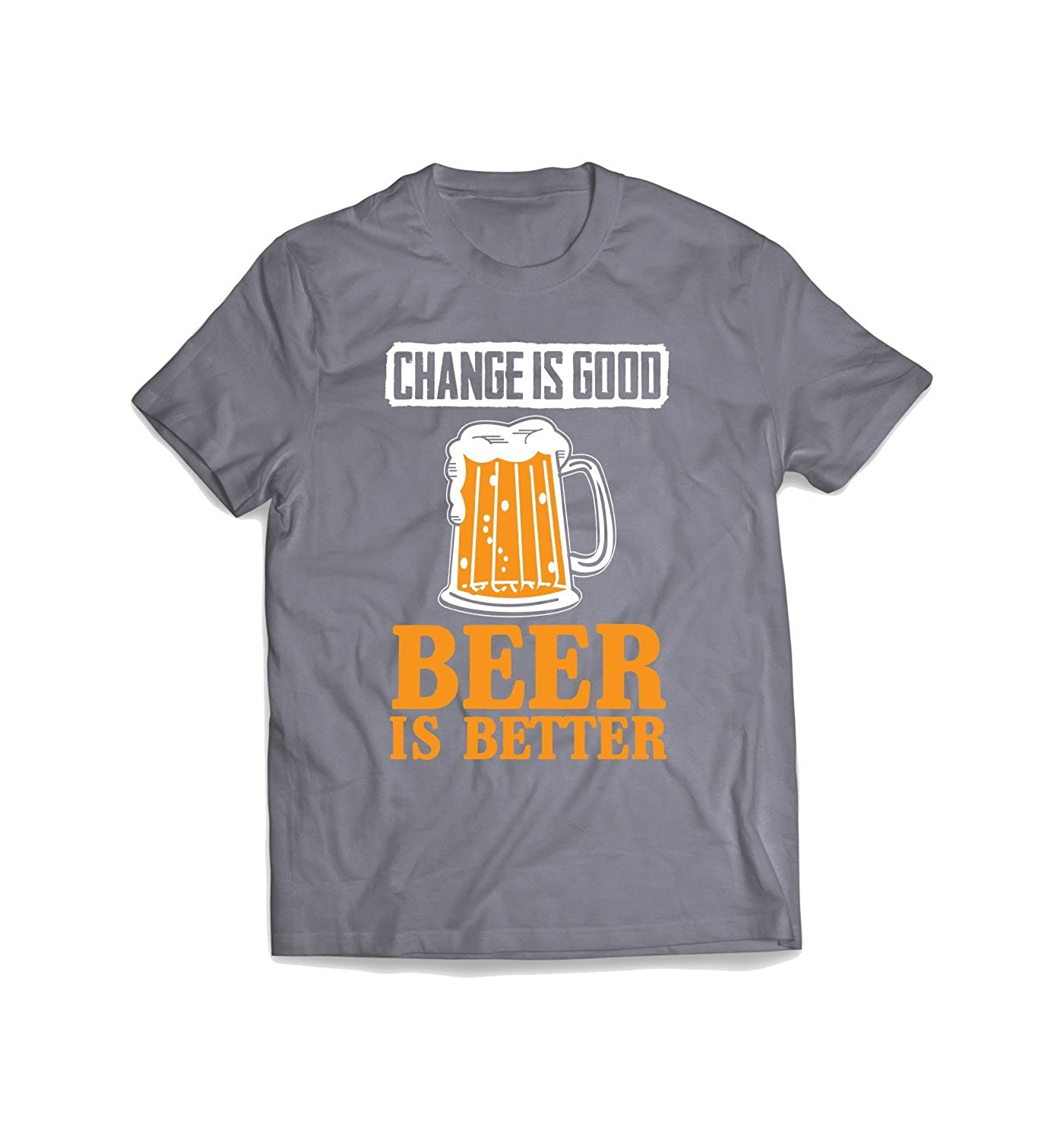 Change Is Good-Beer Beer And Drinking T-Shirt