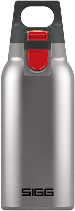 Sigg Hot Cold One Brushed Vakuum Isolierte Thermo Flasche Aus