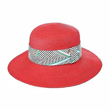yxiny gorras visières sombrero sombrero de paja sombrero de playa Shade Sun  Cap para MS gastos 4f5873ea43d