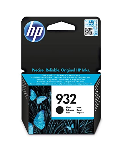 HP 932 Black - Cartucho de Tinta para impresoras (Negro, 400 ...