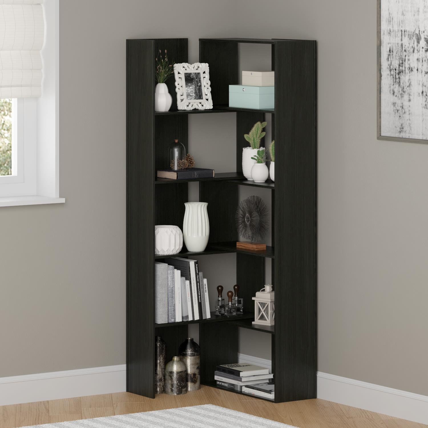 size picture floor barrister flower of varnished silver wooden metal elegance bookcases narrow full bookcase vase wall frame conventional door dark glass gray brown gold solid enclosed