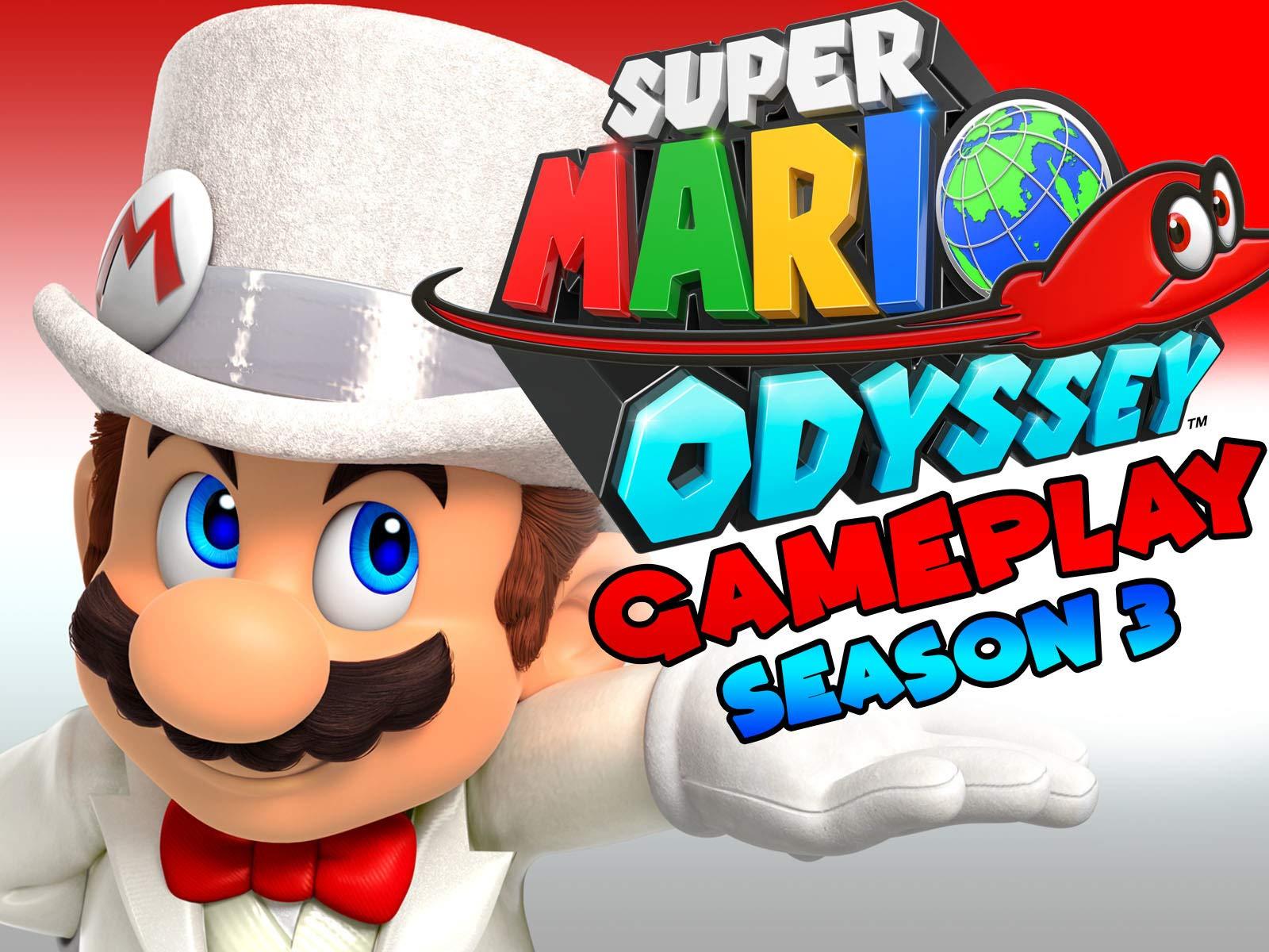 Amazon Com Watch Super Mario Odyssey Gameplay Prime Video