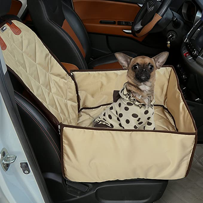 Heavy Duty Quilted Pet Dog Rear Seat Cover For VAUXHALL MERIVA ALL MODELS