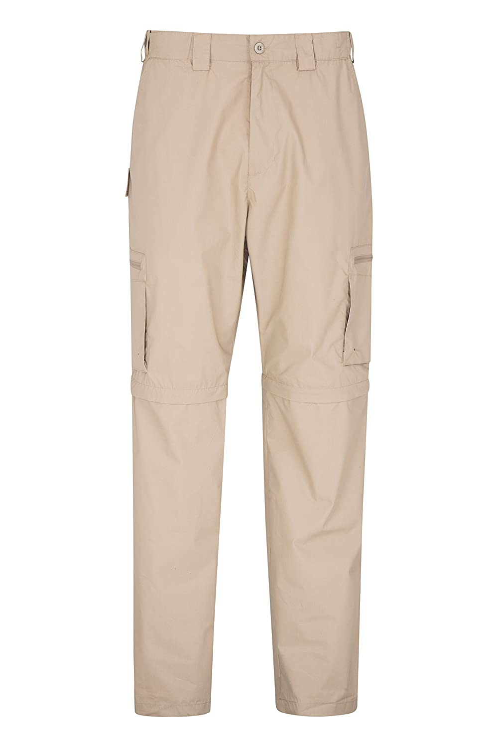 Mountain Warehouse Trek Mens Convertible Trousers -Summer Hiking Pants