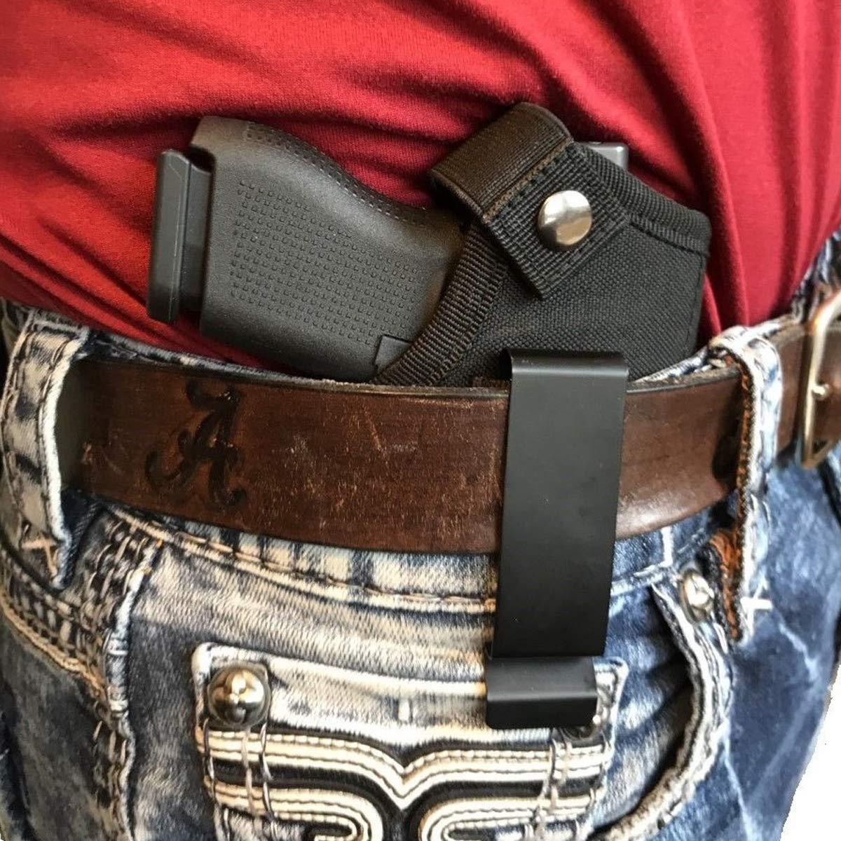 Faviye Combate Deporte Funda de polic/ía Bolsa de Transporte Oculta para Pistola Caza Funda de Pistola