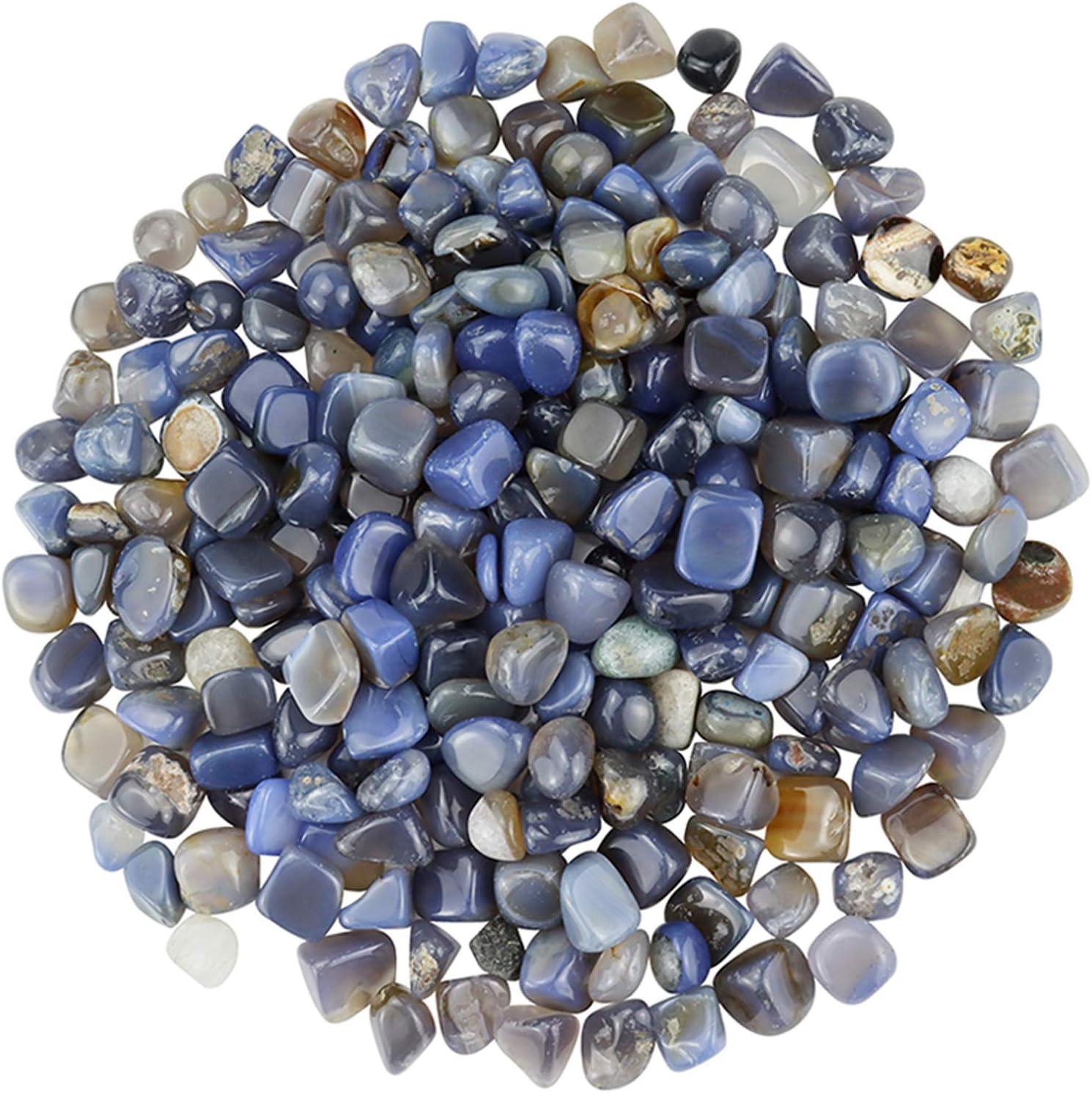 BXI - Decorative Stones - Garden Yard Walkway Fish Tank Aquaruim - Gravel Pebble Rock - 2 Pounds