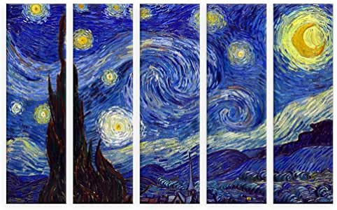 Amazon Com Alonline Art Starry Night By Vincent Van