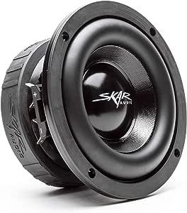 "Skar Audio EVL-65 D4 6.5"" 400 Watt Max Power Dual 4 Ohm Car Subwoofer"