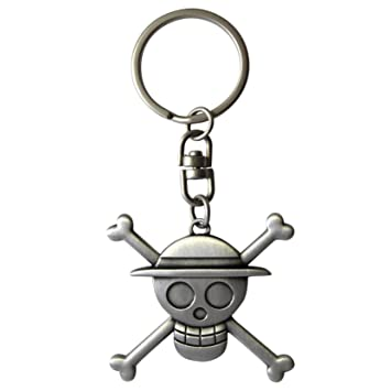 One-piece 599386031 - Llavero 3D Skull Luffy