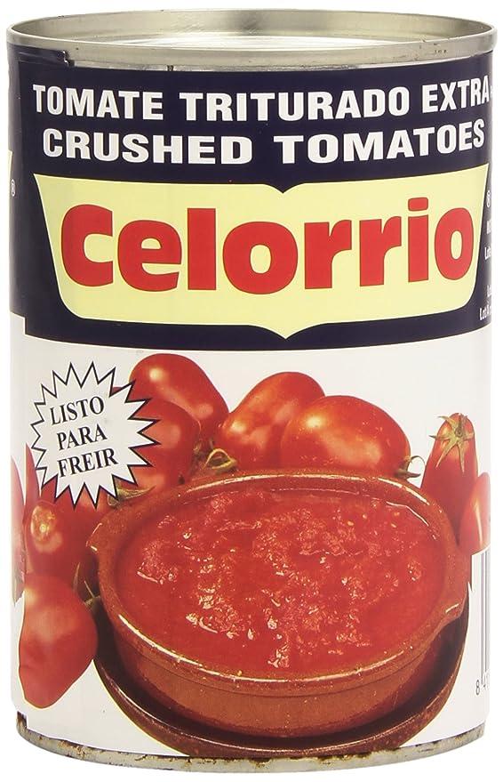 Celorrio Tomate Triturado Extra - 390 g: Amazon.es: Amazon Pantry
