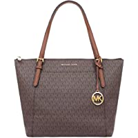 Michael Kors Ciara Vanilla Large Top Zip Tote Bag