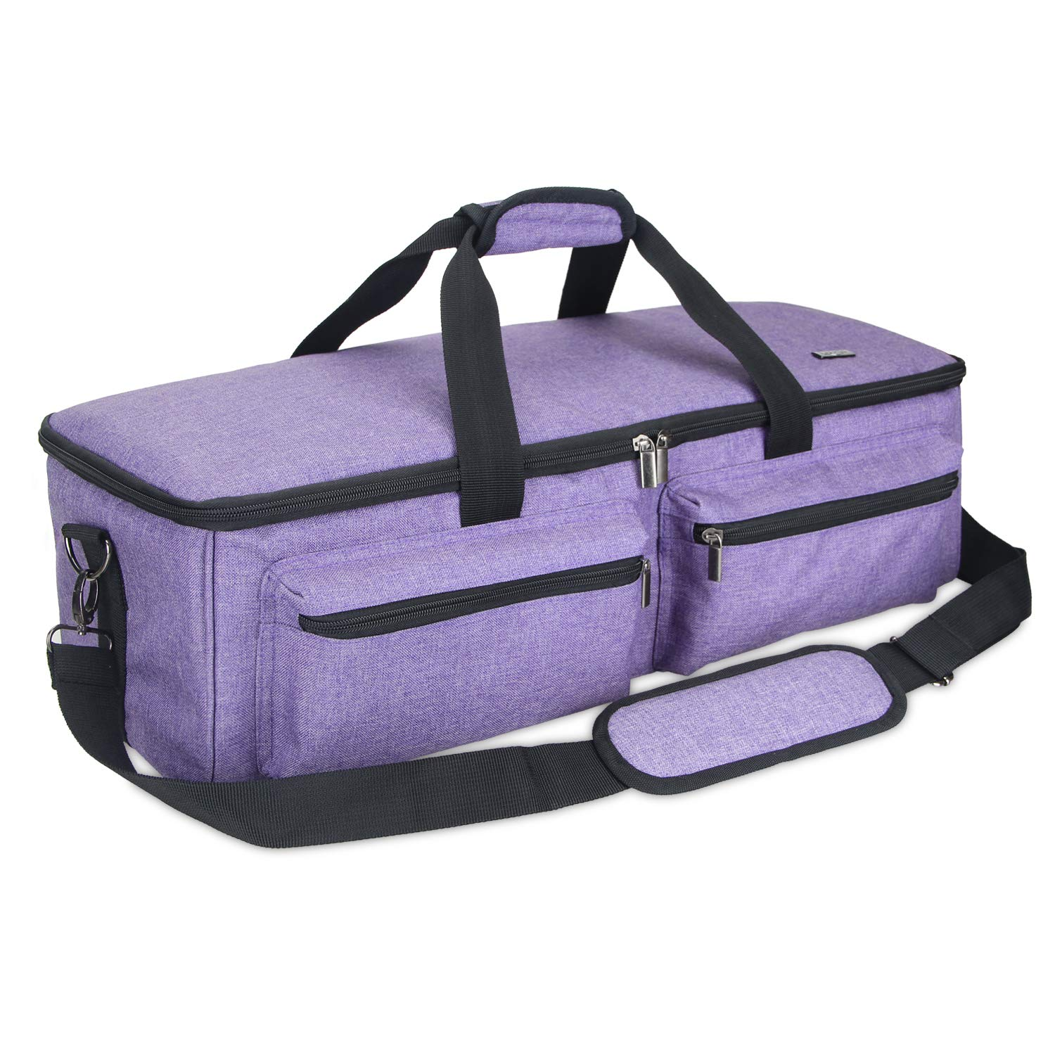 Luxja Carrying Bag for Silhouette Cameo 3, Tote Bag for Silhouette Cameo 3 and Supplies, Purple
