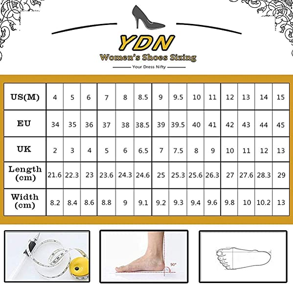 YDN Women Elegant Pointed Toe Mules Stiletto High Heel Sandals Slip on Evening Resorts Cocktail Shoes