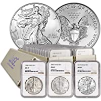 1986 P - 2018 Complete 33 COIN SILVER EAGLE SET MS-69