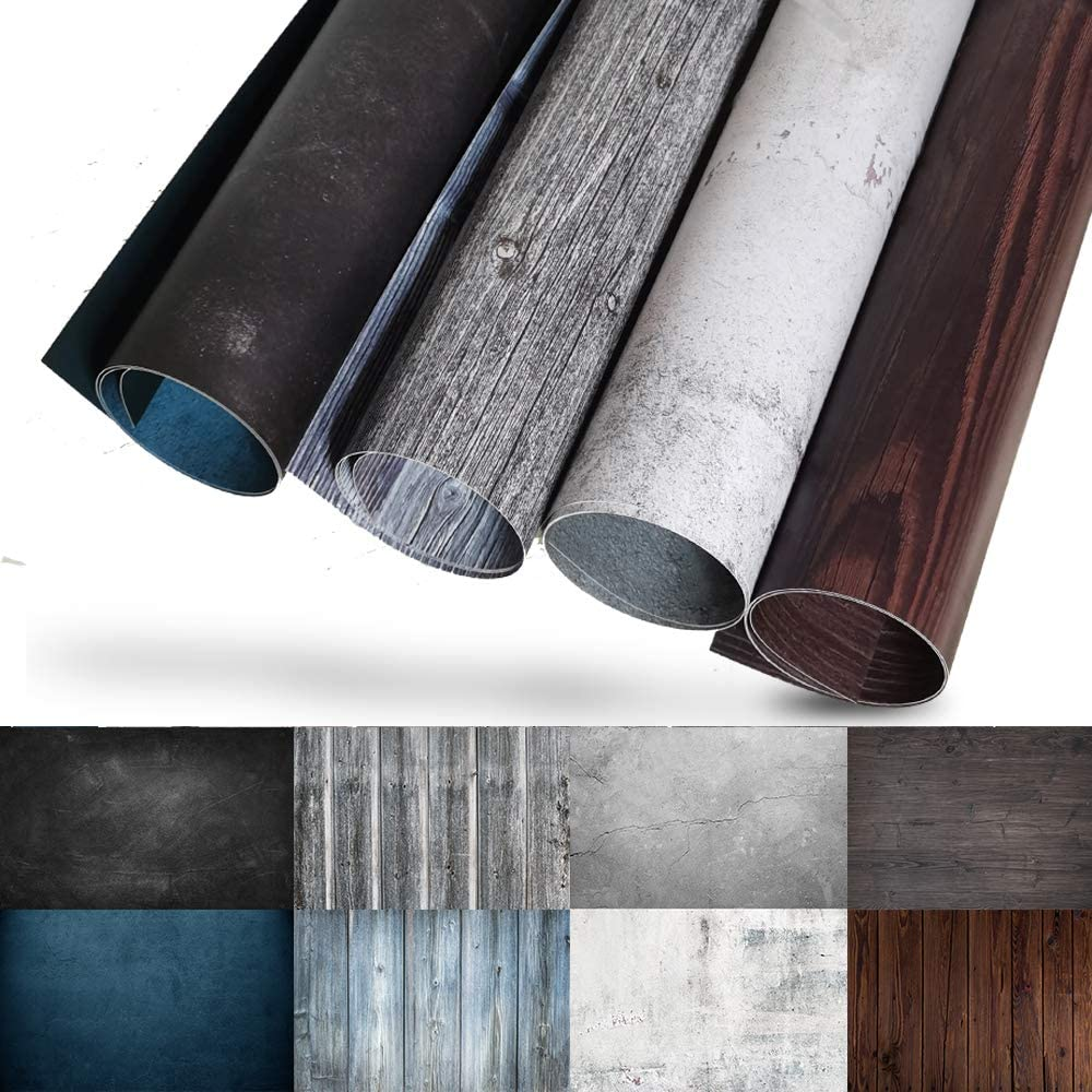 Evanto Photography Background Paper Kit for Food, Jewelry, Cosmetics, Product Photoshoot - 4PCS with 8 Design