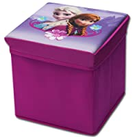 Sgabello con spazio con motivo a scelta - scatola - giocattoli scatola - baule giuocattolo - per giocattoli - contenitore - sgabello