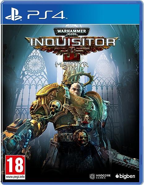 Warhammer 40,000 Inquisitor Martyr Versión Española PlayStation 4 ...