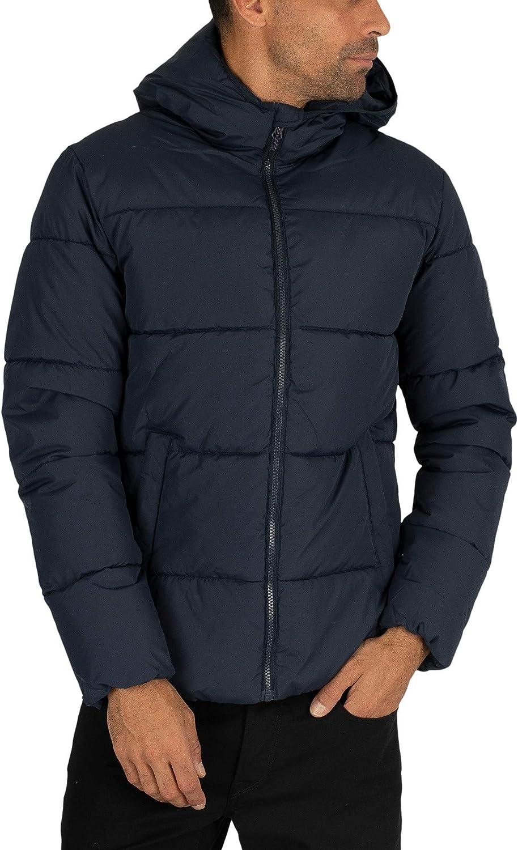 Blue Jack /& Jones Mens Knight Puffer Jacket