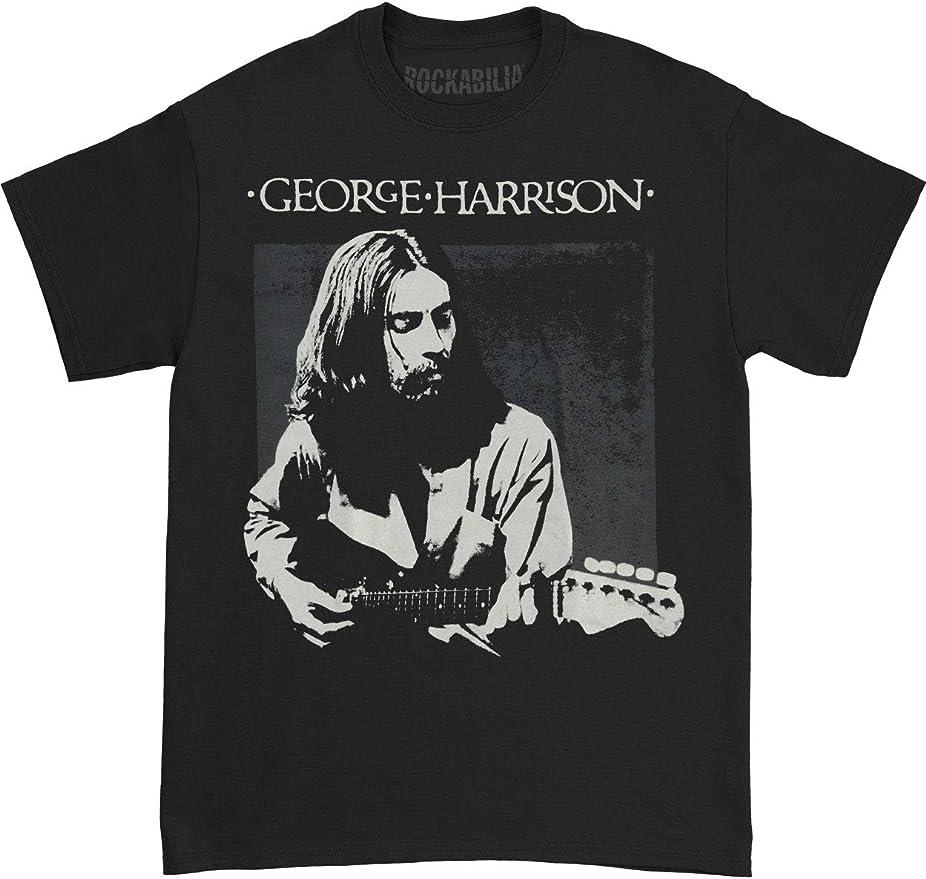 Official George Harrison Live Portrait T-Shirt Brainwashed Dark Horse Cloud Nine