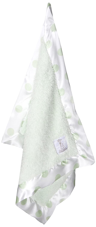 Little Giraffe Chenille New Dot Mini Blanket (Celadon) NDCMINCE