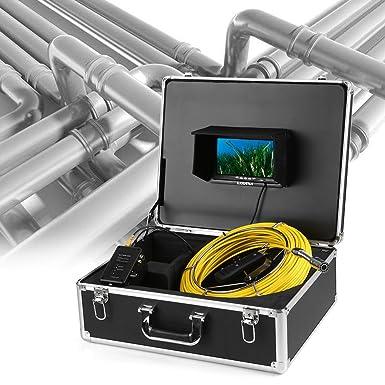 Amazon.com: Lixada tubo cámara de inspección, 164 foot Tubo ...