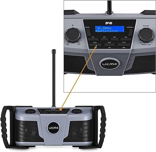 Ueme Baustellenradio Dab Dab Fm Radio Digitalradio Elektronik