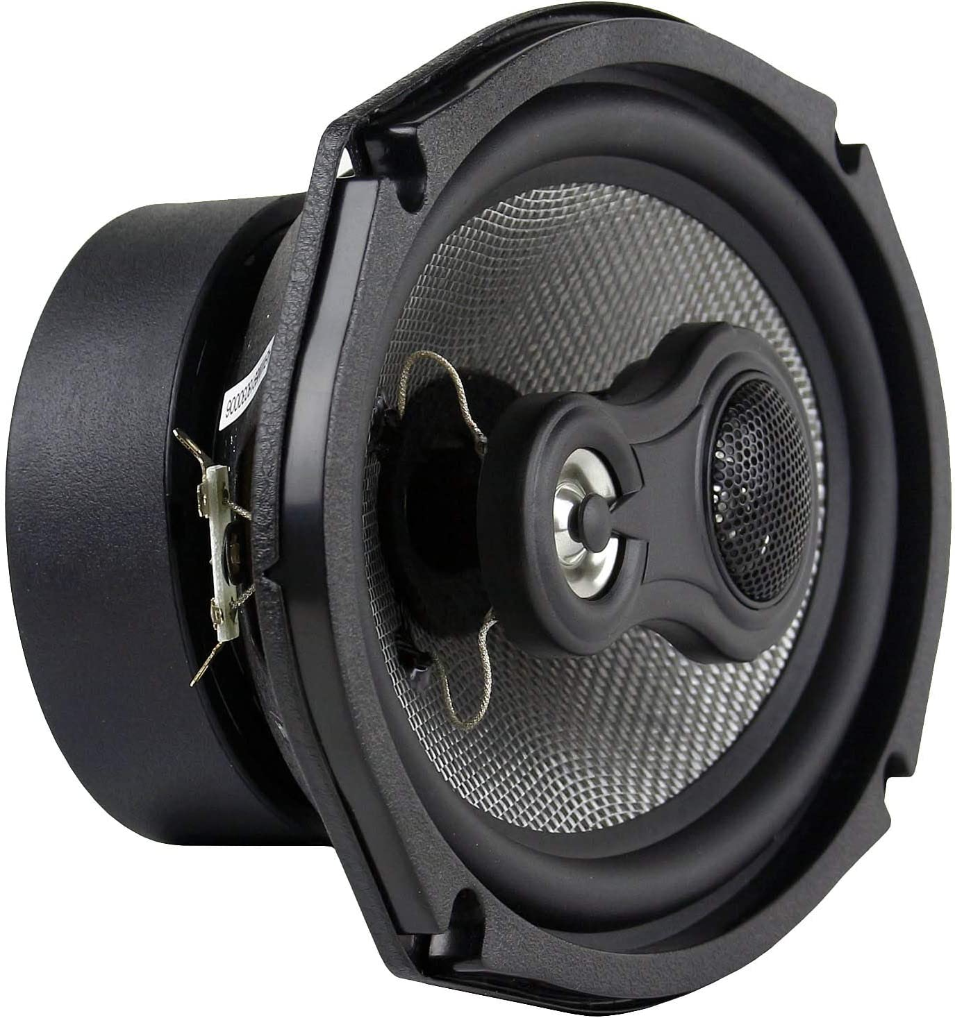 4 Pack 6x9 3-Way Coaxial Speakers 200W Max Grill American Bass Car Audio