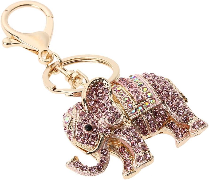 Amazon.com: Whitelotous - Llavero de elefante con ...
