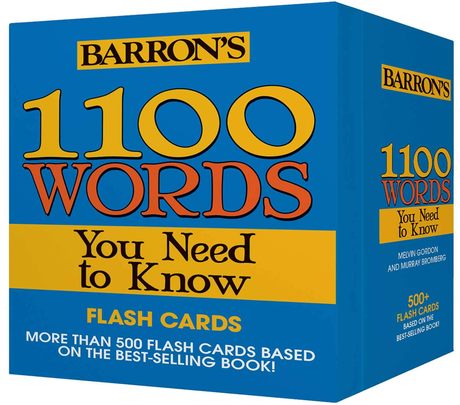 1100 Words You Need to Know Flashcards: Amazon co uk: Melvin
