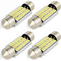 Safego 4x C5W LED 36mm 27 SMD 3014