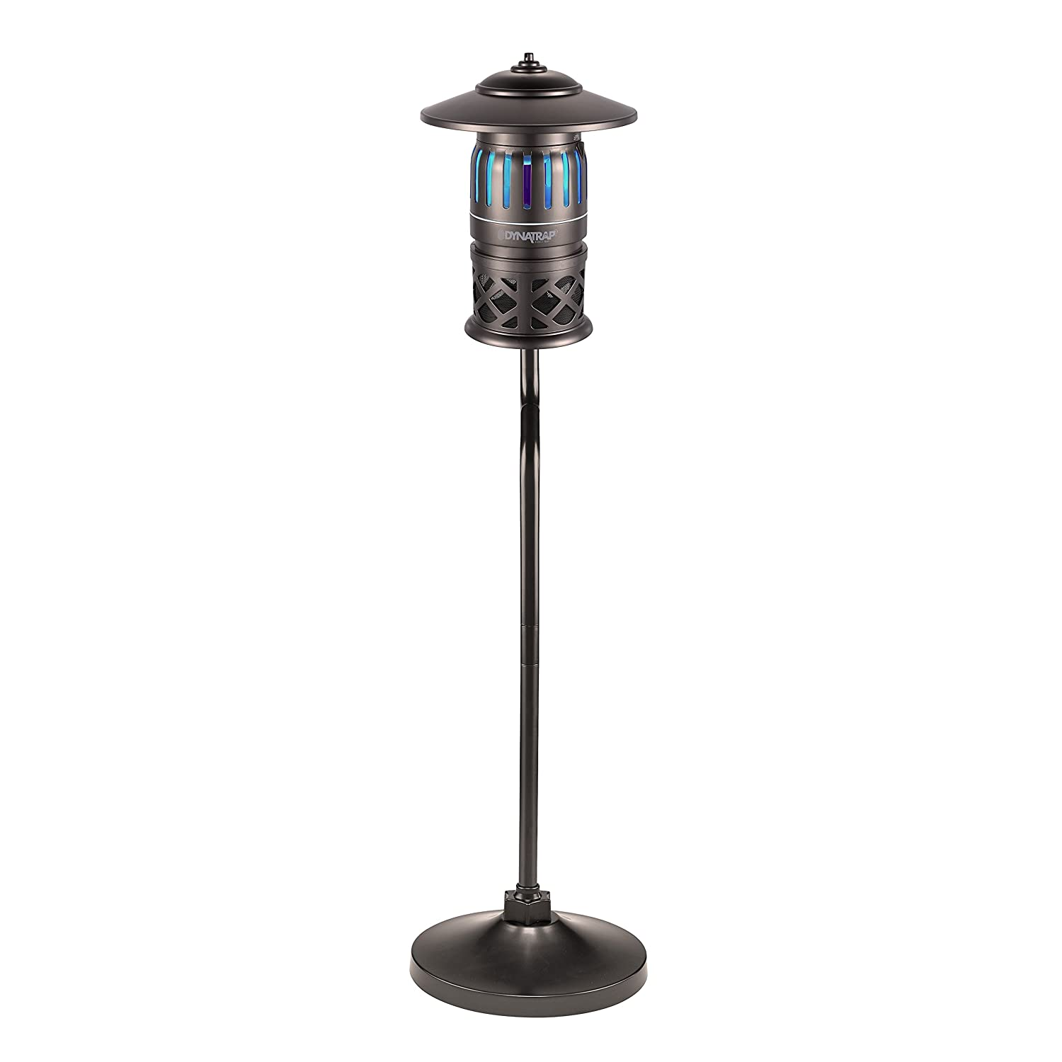 7. Dynatrap DT1260-TUN - Decora Series 1/2 Acre Insect Trap w/Pole Mount