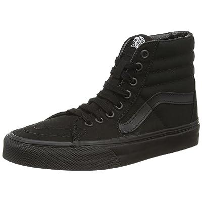 Vans Unisex SK8-Hi Canvas Black Sneaker - | Fashion Sneakers