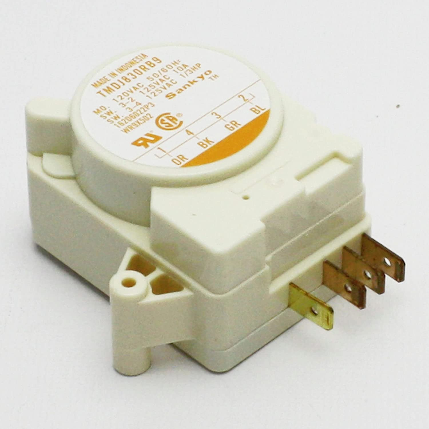 ERWR9X502 Defrost Timer Replaces WR9X502 For GE Kenmore SEARS Refrigerators