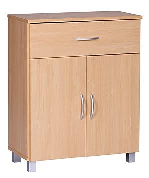 Finebuy Sideboard 1 Schublade 2 Turen 60 Cm Breit 75 Cm Hoch 30 Cm