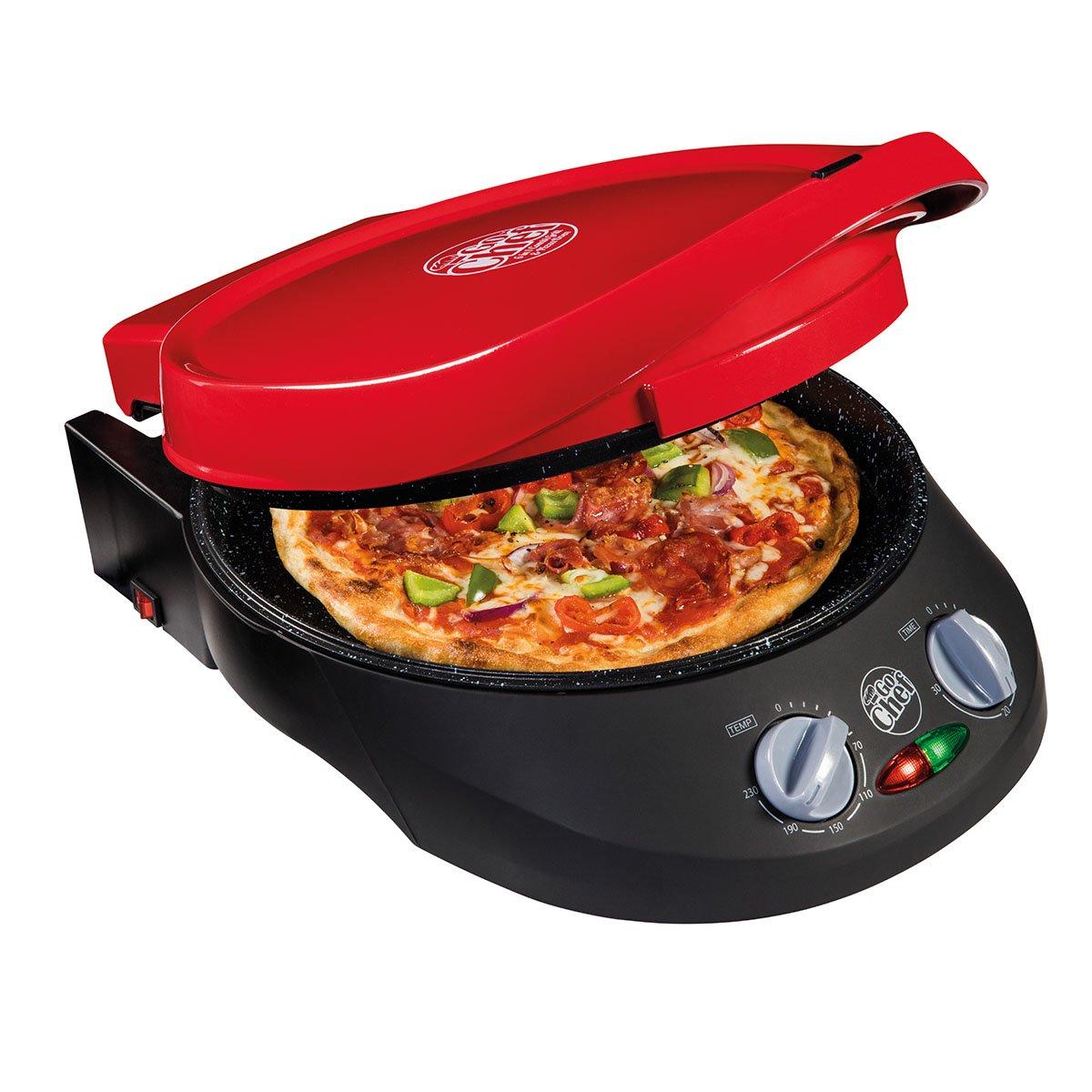 JML Go Chef 3 Piece Countertop Combi-Grill, Pizza Maker w/Bonus Recipe Guide