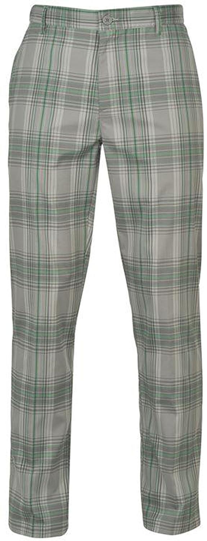 Slazenger  PANTS メンズ B071ZBFRYF 38WR|グレー/グリーン グレー/グリーン 38WR
