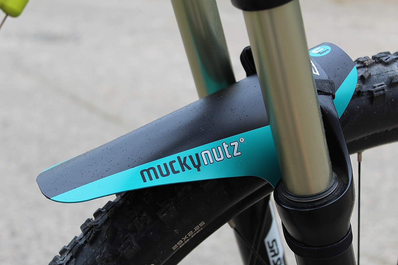 Unisex Adulto Mucky Nutz Face Fender Guardabarros Azul Verdoso Est/ándar