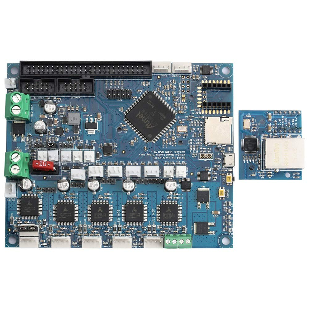 SODIAL 3D Printer Kit Duet Ethernet Control Panel + 7 Full Color Contact Display by SODIAL (Image #8)