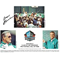 $99 » Don Shula Autographed/Signed Miami Dolphins Hall Of Fame 8x10 Photo JSA