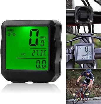 ZQEDY - Cronómetro Universal para Bicicleta, Odómetro y ...