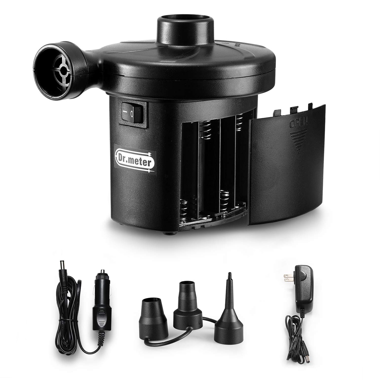 Electric Air Pump, Dr.meter HT-401 Battery Air Mattress Pump
