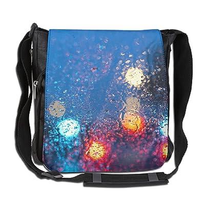 Streetlights Fashion Print Diagonal Single Shoulder Bag