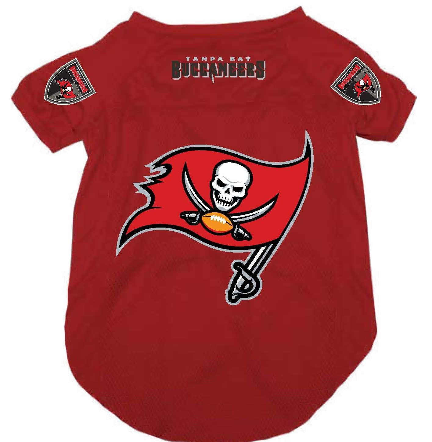 Cheap cheap Tampa Bay Buccaneers Pet Dog Mesh Football Jersey Alternate  for sale