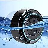Altoparlante Bluetooth Impermeabile da Doccia Cassa Waterproof Speaker Portatile con Ventose, Microfono, Mic incorporato, Altoparlante Vivavoce, per iPhone e Smartphone Android e Tablet PC