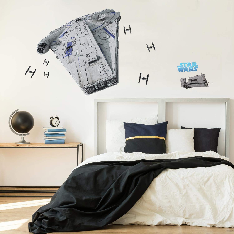 Vinilo Decorativo Pared Star Wars Han Solo Millennium Falcon