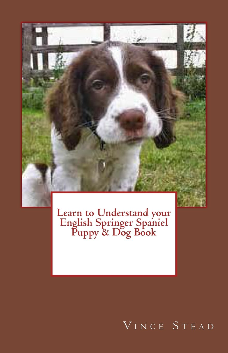 Learn To Understand Your English Springer Spaniel Puppy Dog Book
