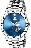 Espoir Quartz Movement Analogue Blue Dial Men's Watch -(ES89652)