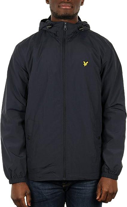 TALLA XL. Lyle & Scott Microfleece Lined Zip Through Jacket Chaqueta para Hombre